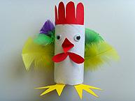 La poule rigolote de p ques - Image rigolote de paques ...